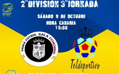 Gran Canaria Teldeportivo y Mora buscan un premio de tres puntos
