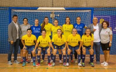 Tres puntos para el Gran Canaria Teldeportivo en un partido trabado