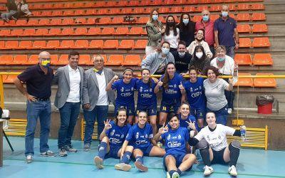 Naira, Anita y Sofí sellan la primera victoria del Gran Canaria Teldeportivo
