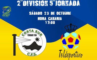 Costa Sur-Gran Canaria Teldeportivo: El derbi canario